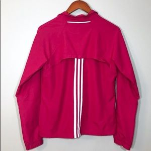 Adidas Athletic Windbreaker Jacket Sz M